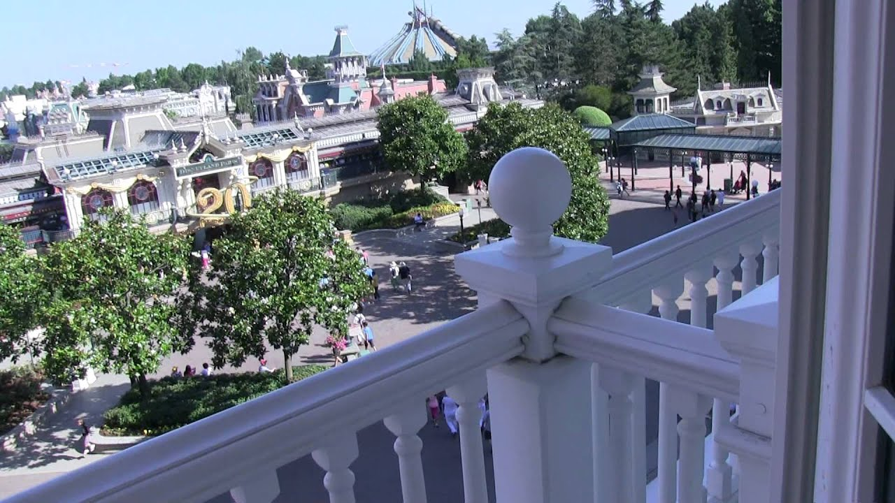 Disneyland hotel castle club room 2306 including parkview for Chambre castle club disneyland hotel