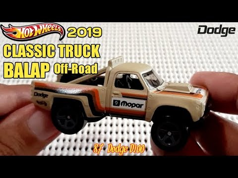 HOT WHEELS CLASSIC TRUCK BALAP OFF-ROAD - Mainan Mobil Mobilan Hot Wheels 2019 REVIEW
