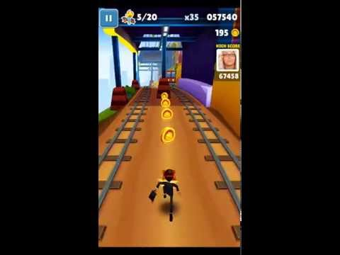 [Subway Surfers] Stumble upon 6 barriers in one run