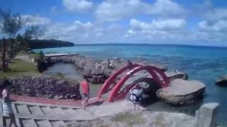 Cruise destination: Lifou, New Caledonia