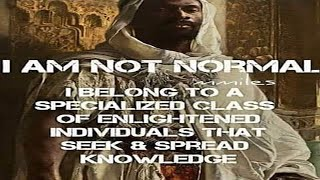 Speaking on the Moorish Divine…