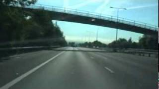 Driving in the UK (England Motorways) - M20 Eastbound to Maidstone