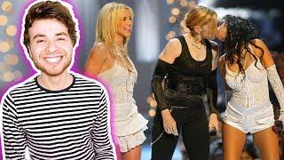 Madonna, Britney Spears & Christina Aguilera Like a Virgin / Hollywood (Live on VMAs 2003) Reaction