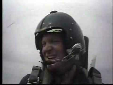 Dale Earnhardt Jr flies with the Blue Angels