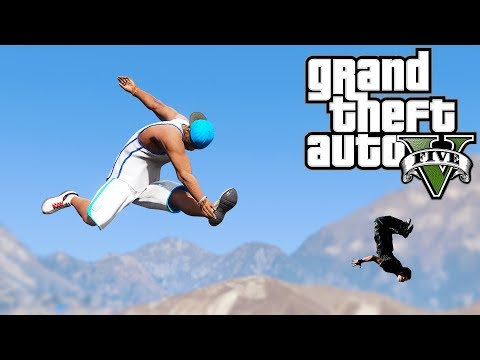 Grand Theft Auto V: GTA 5 - Parkour Fails # 21 (Best Ragdoll, Extreme Parkour Fails, Hard Injuries) thumbnail