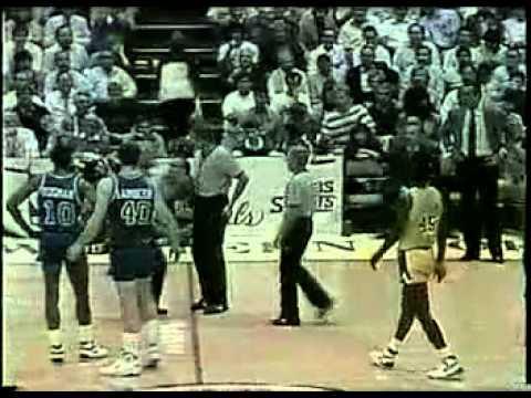 1989 NBA FINALS Game 4 2of10 Lakers Pistons Dumars James worthy