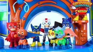 Aprende los Colores con Paw Patrol y PJ Masks!