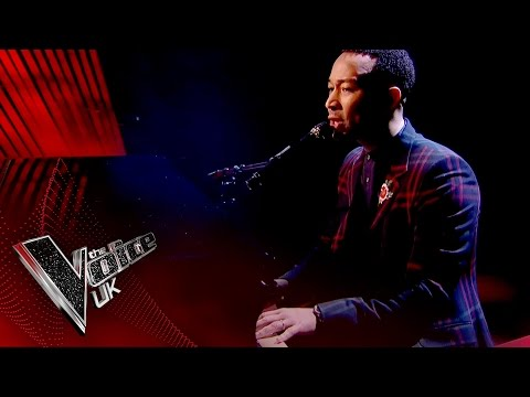 John Legend performs 'Surefire' | The Voice UK 2017
