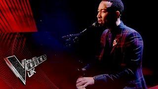 John Legend performs 'Surefire'   The Voice UK 2017