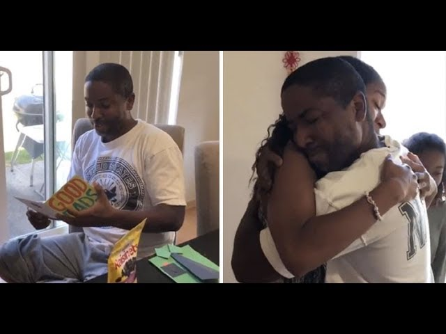 Daughters tell stepdad they will take his last name in emotional Father's Day surprise