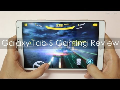 Samsung Galaxy Tab S 8.4 Gaming Review