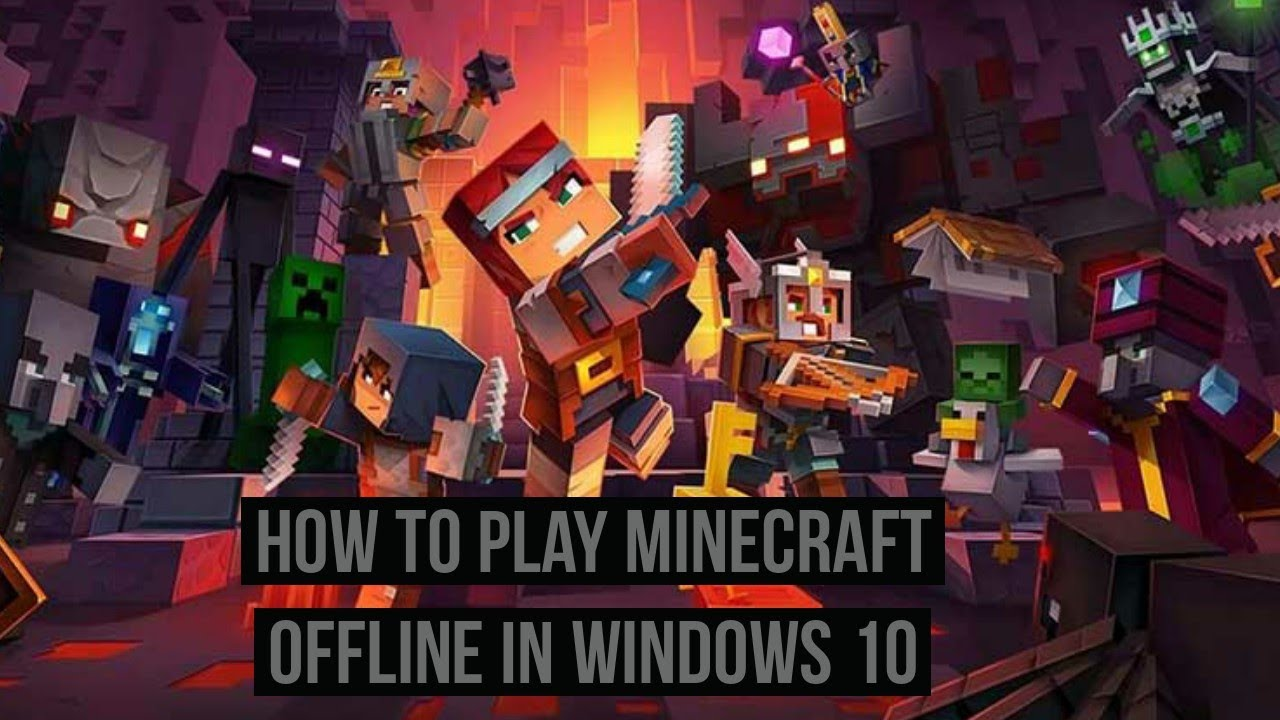 How to play Minecraft offline in Windows 11?
