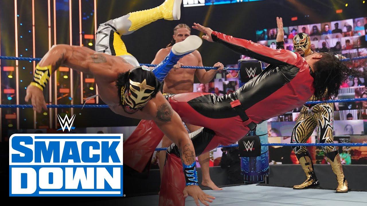 Matt Riddle, Lince Dorado & Gran Metalik vs. King Corbin, Nakamura & Cesaro: SmackDown, Oct. 2, 2020
