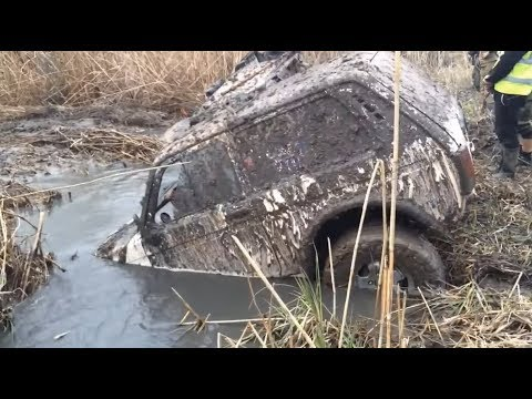 Offroad Lada Niva 4x4 Extreme Compilation