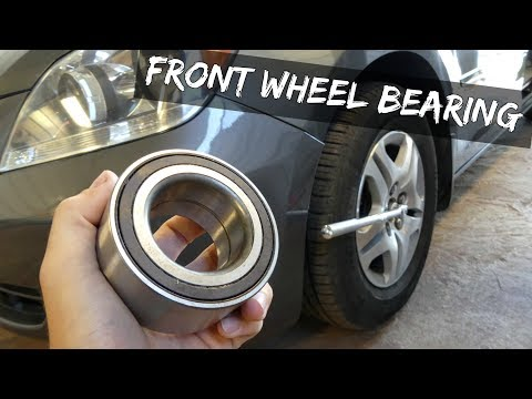 HOW TO REPLACE FRONT WHEEL BEARINGS without PRESS