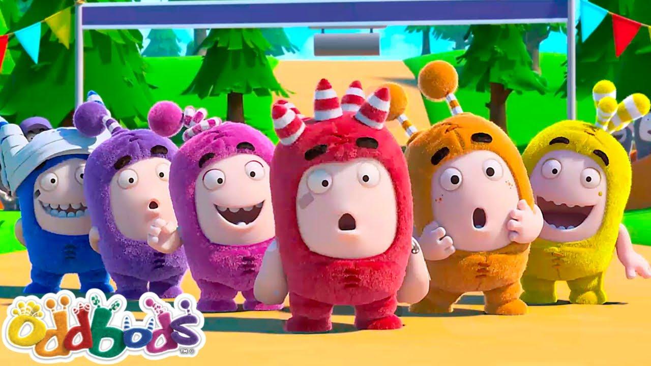 Oddbods   The Rainbow Characters   Cartoon For Kids