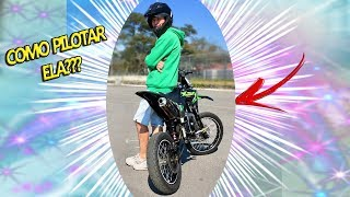 COMO ANDAR DE MINI MOTO CROSS?