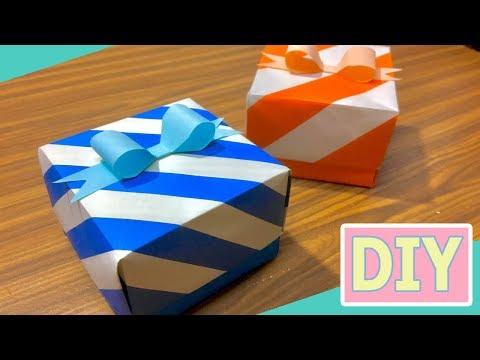 Easy DIY Gift box  / Paper box #2 tutorial