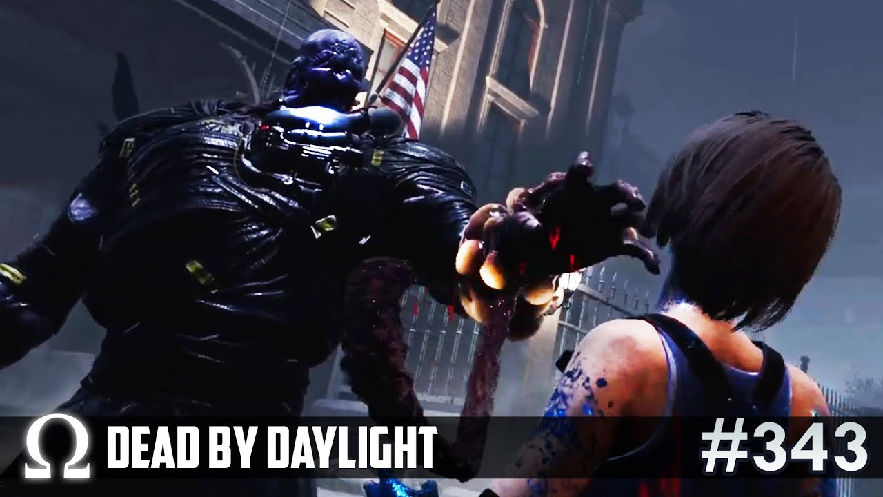 NEW SURVIVOR vs THE NEMESIS! (New MAP) ☠️ | Dead by Daylight DBD Nemesis / Resident Evil Chapter