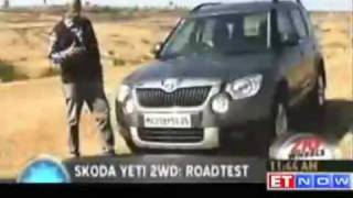 ZigWheels: Road test of Skoda Yeti 2WD