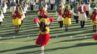 Na Koa Ali`i Hawaii All State Marching Band - 2014 Pasadena Bandfest