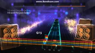 chevelle send the pain below lead guitar cover rocksmith cdlc
