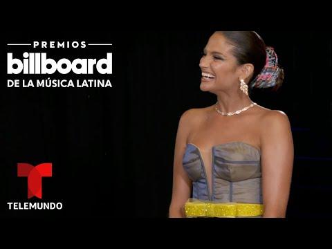Premios Billboard 2020: Natalia Jimenez disfrutó siendo presentadora