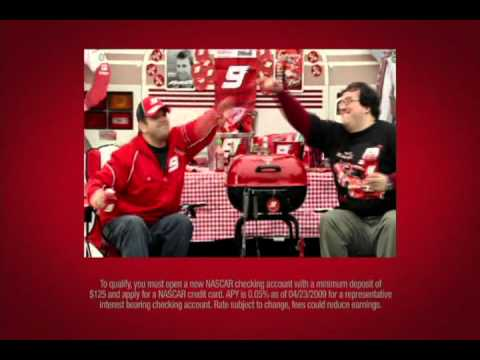Bank of America - Favorite NASCAR Driver Commercial
