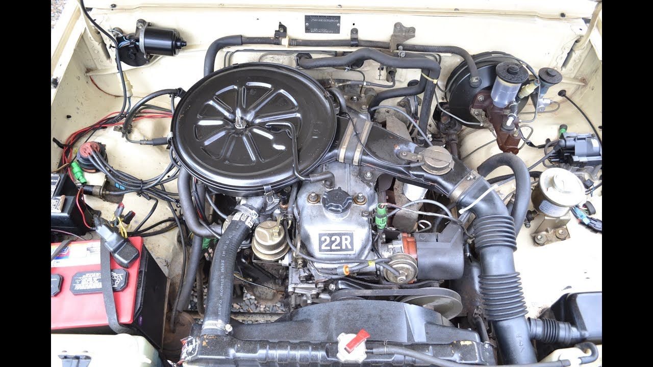 1985 Toyota 22r Carburetor 84 Wiring Diagram