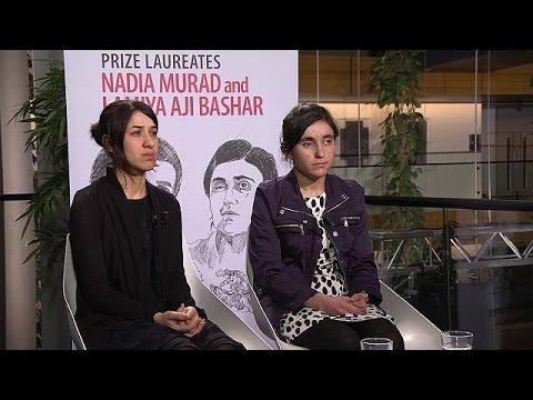 Daeş'ten kaçan Nadia ve Lamiya: