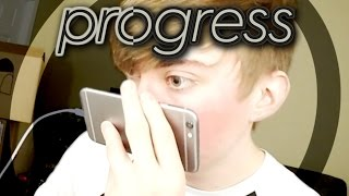 CLICK WITH YOUR NOSE - Progress to 100 (iPhone Gameplay Video)