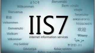 How to host a simple HTML file or web application in IIS 7