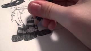 AJ Speed Draw for XxwarriorcatsbloodxX [RE UPLOAD]
