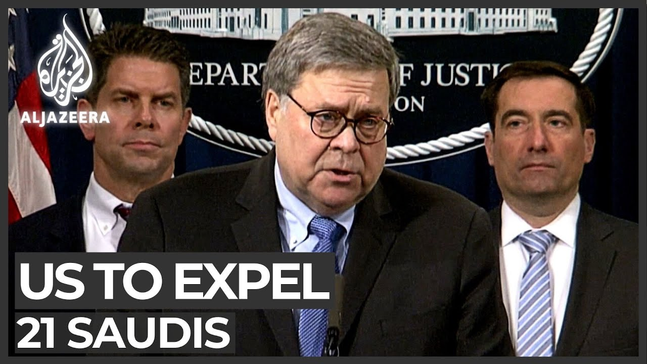 US expels 21 Saudi cadets after Florida naval base attack probe