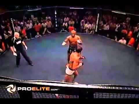 Anderson Silva vs Lee Murray   MMA Cage Rage WIDESCREEN