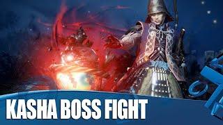 Nioh 2 New Gameplay - Kasha Boss Fight!