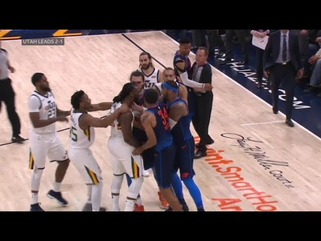 okc-vs-utah-jazz-all-11-fight-brawl-scenes-ugliest-game-in-years-7-technicals-1-ejection