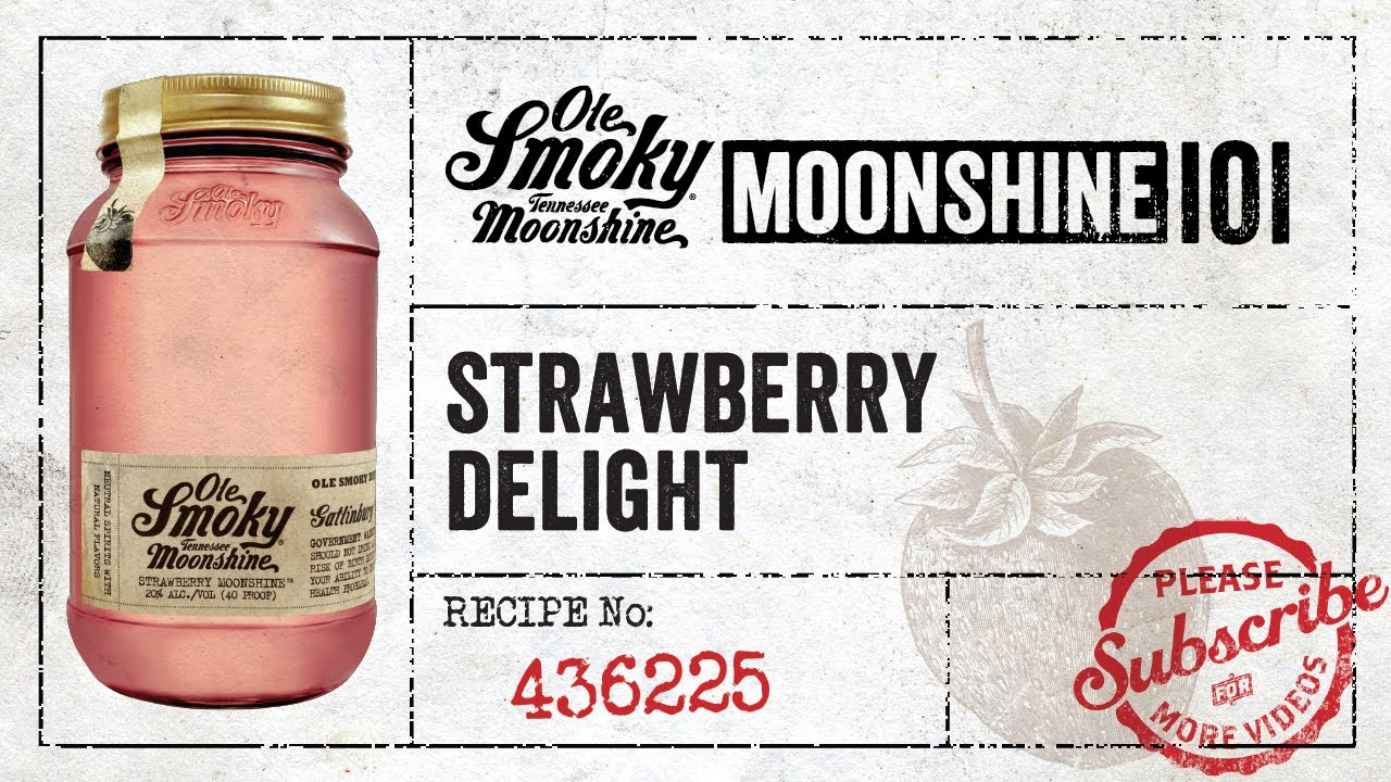 Ole Smoky Moonshine 101 Strawberry Delight