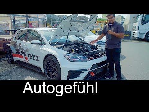 The Golf race car! VW Golf GTI TCR FEATURE & comparison Golf GTI Clubsport S @ADAC TCR Hockenheim - Dauer: 26 Minuten