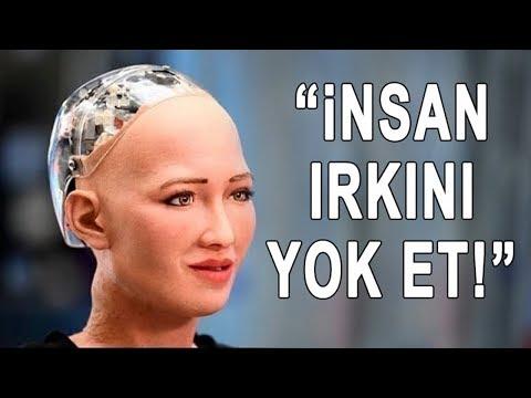 Yapay Zeka Robotları Tarafından Söylenmiş 4 Korkunç Şey