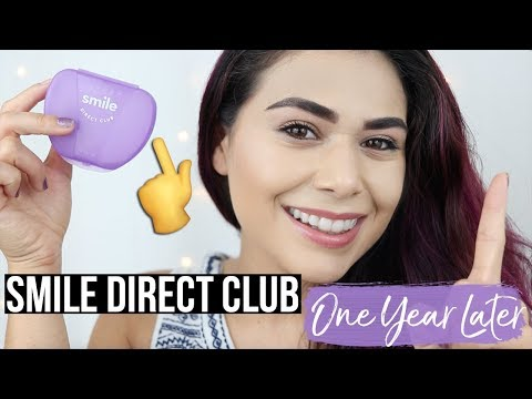 ONE YEAR LATER: SMILE DIRECT CLUB UPDATE | Aligner Routine