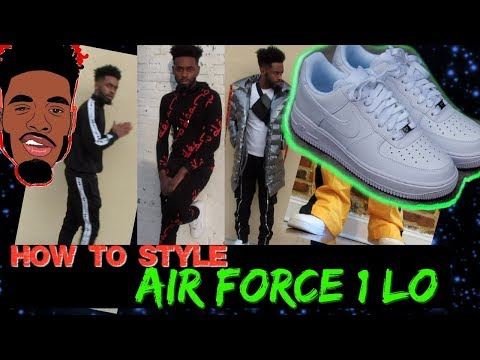 How To Style Air Force 1 Lo 07