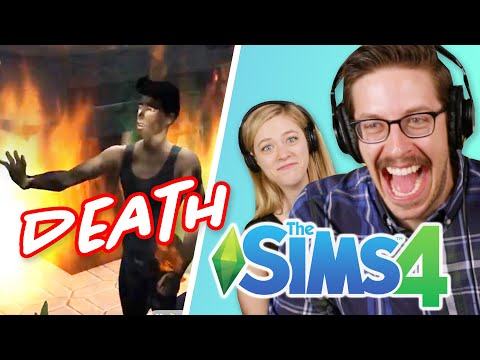 Keith Watches Fans Kill Off The Try Guys • The Sims 4