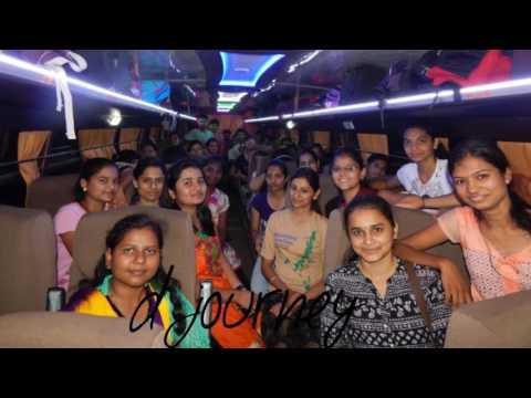 Ssvps engineering college 2nd year civil department(2016-17)  ,dhule trip video....