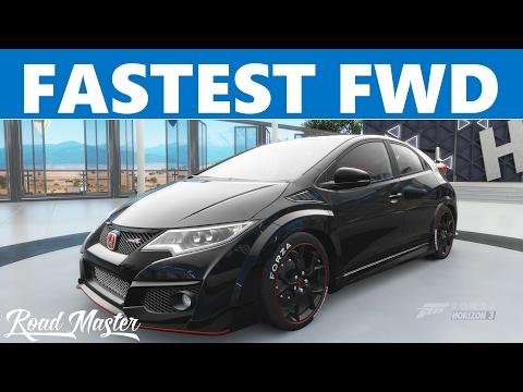 2016 Honda Civic Type R Top Speed Build!!! Forza Horizon 3