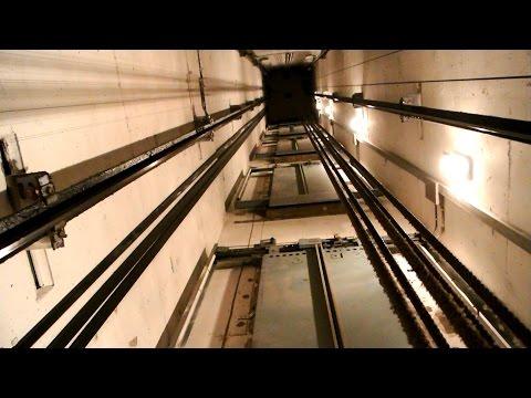 Elevator Surfing! 1978 KONE traction elevator (mb KONE 2000) @ Unioninkatu 13, Helsinki, Finland