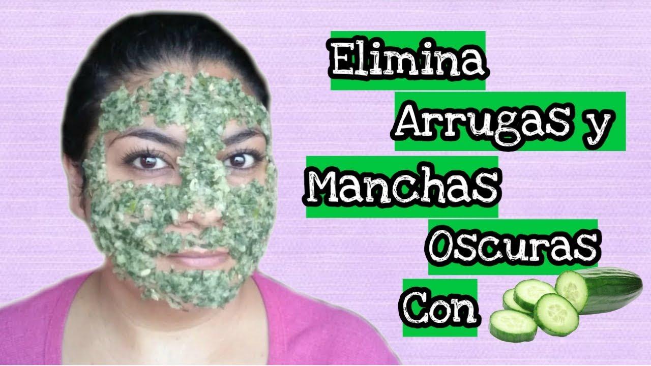 Mascarilla De Pepino Para Eliminar Arrugas Y Manchas Oscuras En La Piel Youtube
