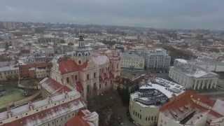DJI 0620 полет над  Вильнюсом троллинг голубей skrydžio per Vilniaus velkamosiomis golubey