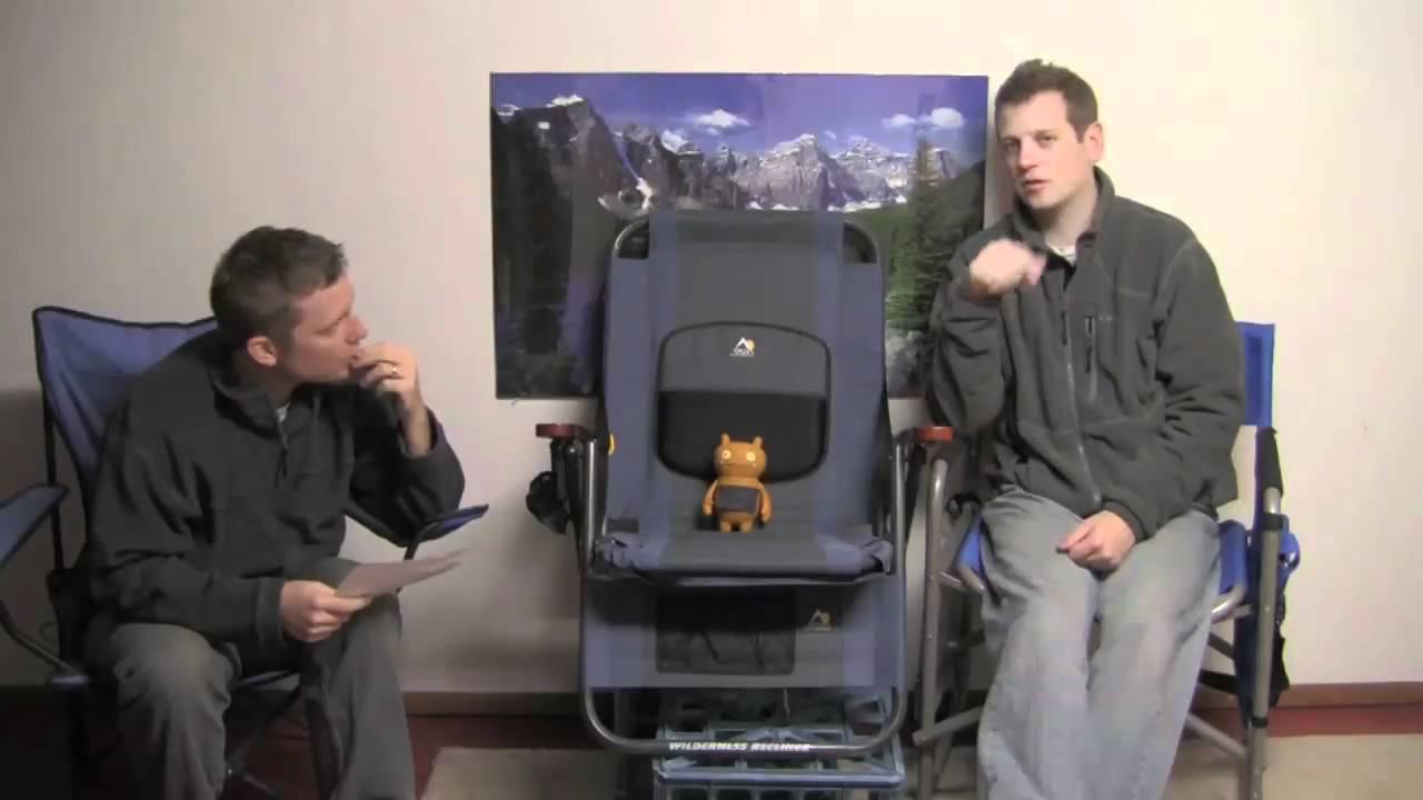 GCI Wilderness Recliner U0026 Gear Giveaway   CGTV Episode 138   YouTube