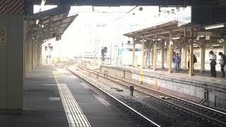 撮り溜めです_117系京都駅発車シーン